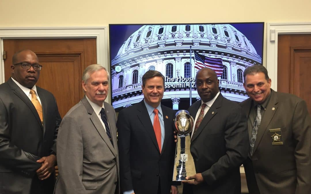 NJFOP Exec Board goes to DC to meet with lawmakers