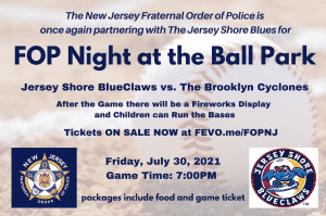 FOP Night at the Ballpark @ FirstEnergy Park
